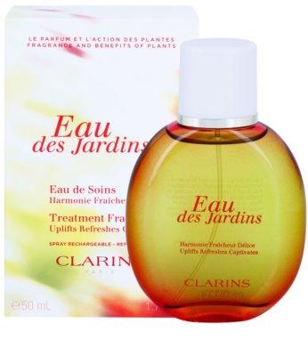 Clarins Eau Des Jardins osvěžující voda pro ženy  plnitelný 2