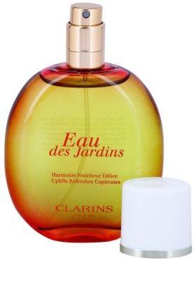 Clarins Eau Des Jardins osvěžující voda pro ženy  plnitelný 4