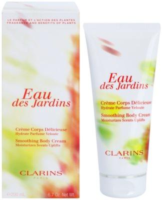 Clarins Eau Des Jardins crema corporal para mujer