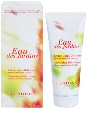 Clarins Eau Des Jardins tělový krém pro ženy
