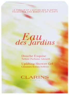 Clarins Eau Des Jardins gel de ducha para mujer 1