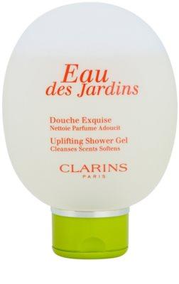 Clarins Eau Des Jardins gel de ducha para mujer 2