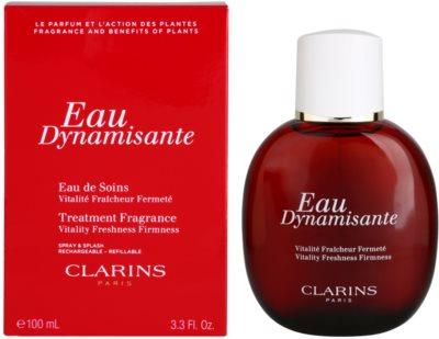 Clarins Eau Dynamisante Eau Fraiche unisex  recargable