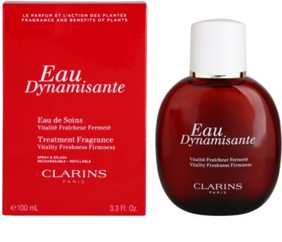 Clarins Eau Dynamisante frissítő víz unisex  utántölthető