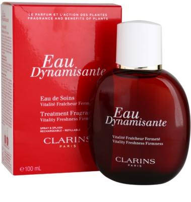Clarins Eau Dynamisante osvěžující voda unisex  plnitelná 1