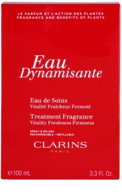 Clarins Eau Dynamisante osvěžující voda unisex  plnitelná 2