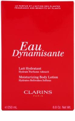 Clarins Eau Dynamisante Körperlotion für Damen
