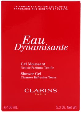 Clarins Eau Dynamisante душ гел за жени 3