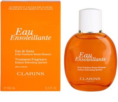 Clarins Eau Ensoleillante água refrescante para mulheres