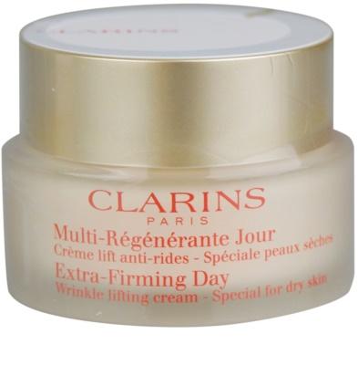 Clarins Extra-Firming денний крем-ліфтінг проти зморшок для сухої шкіри