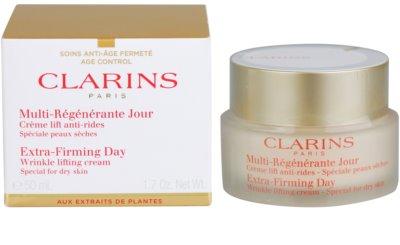 Clarins Extra-Firming krem liftingujący przeciw zmarszczkom na dzień do skóry suchej 1