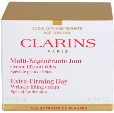 Clarins Extra-Firming Lifting-Tagescreme gegen Falten für trockene Haut 2