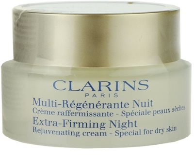 Clarins Extra-Firming нощен крем против бръчки  за суха кожа