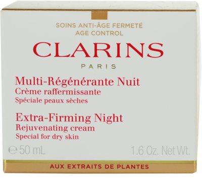 Clarins Extra-Firming нощен крем против бръчки  за суха кожа 2