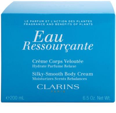 Clarins Eau Ressourcante tělový krém pro ženy 4