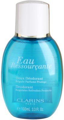 Clarins Eau Ressourcante desodorizante vaporizador para mulheres