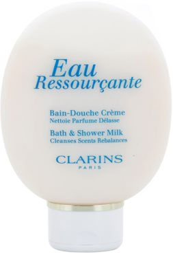 Clarins Eau Ressourcante sprchový gel pro ženy  sprchové mléko