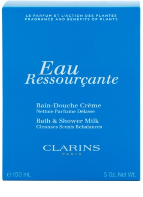 Clarins Eau Ressourcante Shower Gel for Women  Shower Milk 2