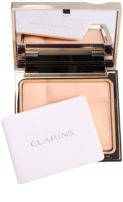 Clarins Face Make-Up Ever Matte pó compacto mineral para aspeto mate 1