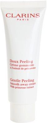 Clarins Exfoliating Care Crema delicata pentru peeling pentru toate tipurile de ten