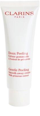Clarins Exfoliating Care delikatny krem peelingujący do wszystkich rodzajów skóry