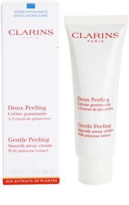 Clarins Exfoliating Care Crema delicata pentru peeling pentru toate tipurile de ten 1