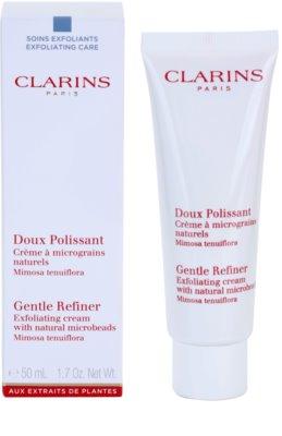 Clarins Exfoliating Care Peeling-Creme mit natürlichen Micropartikeln 1