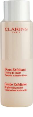 Clarins Exfoliating Care jemné exfoliačné tonikum pre rozjasnenie pleti