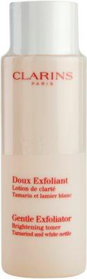 Clarins Exfoliating Care sanftes Peeling-Tonikum zur Verjüngung der Gesichtshaut