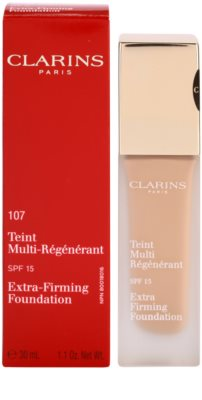 Clarins Face Make-Up Extra-Firming Creme-Make up gegen die Alterung der Haut SPF 15 2