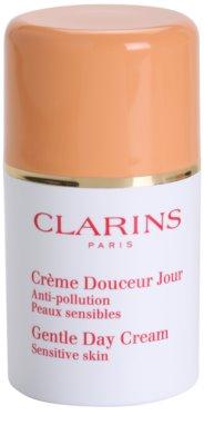 Clarins Gentle Care creme hidratante diário para pele sensível