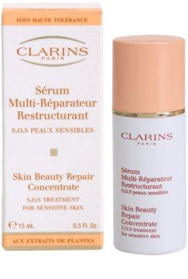 Clarins Gentle Care ulei pentru regenerare pentru piele sensibila cu tendinte de inrosire 2