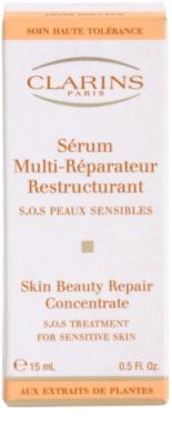 Clarins Gentle Care ulei pentru regenerare pentru piele sensibila cu tendinte de inrosire 3