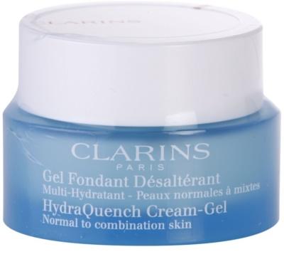 Clarins HydraQuench hidratáló géles krém normál és kombinált bőrre