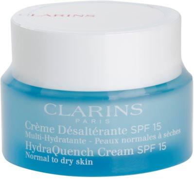 Clarins HydraQuench crema de día hidratante  SPF 15