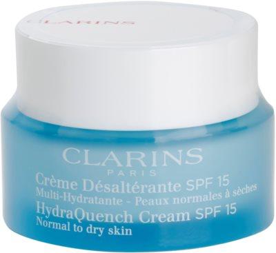 Clarins HydraQuench hidratáló nappali krém SPF 15
