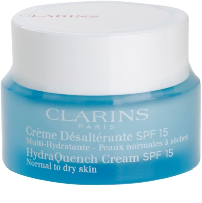 Clarins HydraQuench хидратиращ дневен крем SPF 15