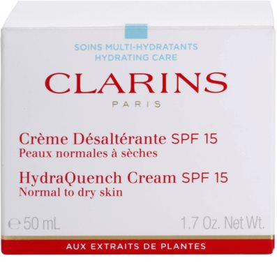 Clarins HydraQuench hydratisierende Tagescreme SPF 15 2