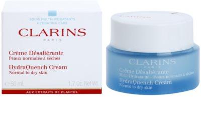 Clarins HydraQuench hidratáló krém normál és száraz bőrre 1