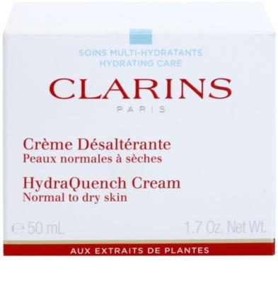 Clarins HydraQuench hidratáló krém normál és száraz bőrre 2