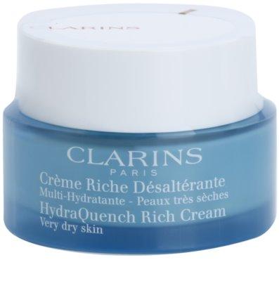 Clarins HydraQuench creme intensivo hidratante para pele muito seca