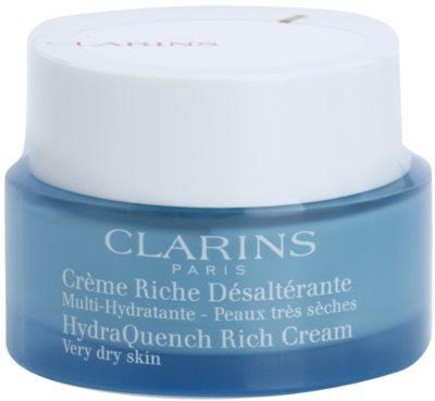 Clarins HydraQuench intensive, hydratisierende Creme für sehr trockene Haut
