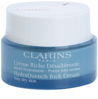 Clarins HydraQuench intenzivní hydratační krém pro velmi suchou pleť