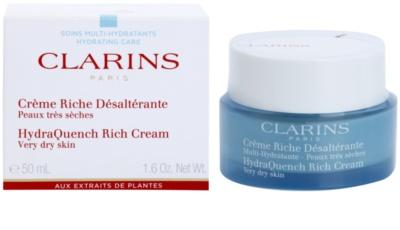 Clarins HydraQuench intensive, hydratisierende Creme für sehr trockene Haut 1