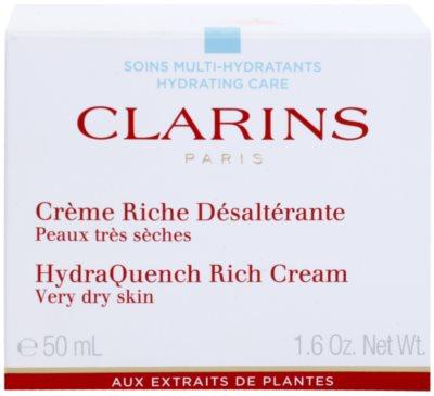 Clarins HydraQuench intensive, hydratisierende Creme für sehr trockene Haut 2