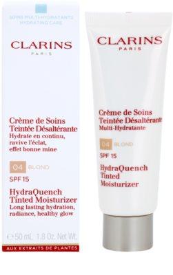 Clarins HydraQuench crema hidratante ligera con color  SPF 15 1