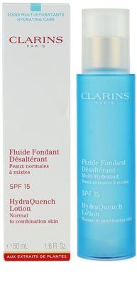 Clarins HydraQuench feuchtigkeitsspendende Pflege für normale und gemischte Haut SPF 15 3