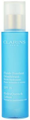 Clarins HydraQuench cuidado hidratante para pieles normales y mixtas SPF 15