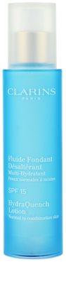 Clarins HydraQuench feuchtigkeitsspendende Pflege für normale und gemischte Haut SPF 15