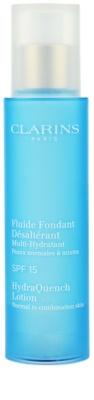 Clarins HydraQuench hidratante para pele normal e mista SPF 15